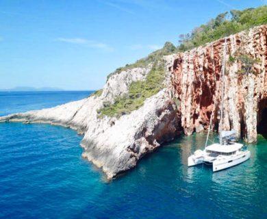 Hidden Bay off Hvar