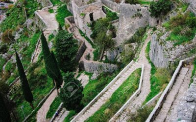 Kotor fortress walls, Montenegro