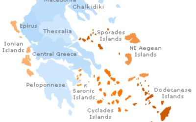 Greek Sailing Areas 515
